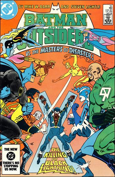 Batman and the Outsiders (1983) 10-A by DC