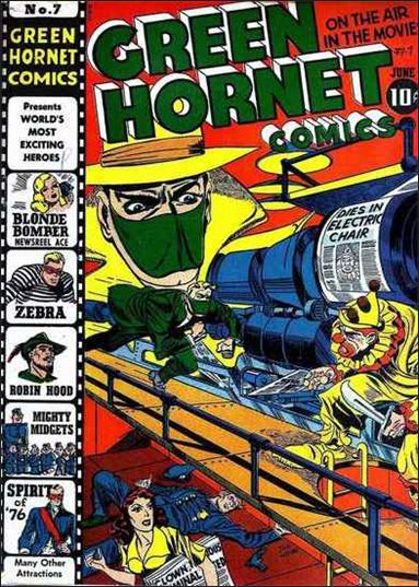Green Hornet Comics 7-A by Harvey