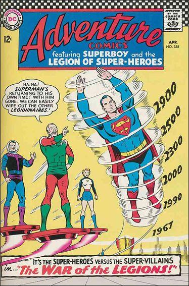 Adventure Comics (1938) 355-A by DC