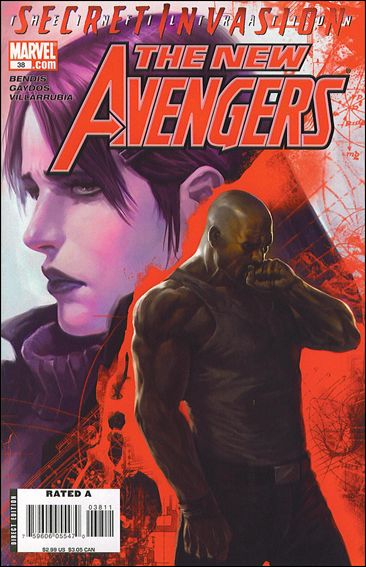 New Avengers (2005) 38-A by Marvel
