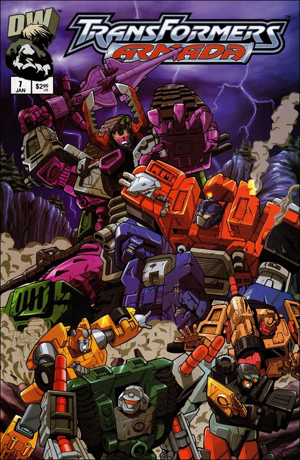 Transformers: Armada 7-A by Dreamwave