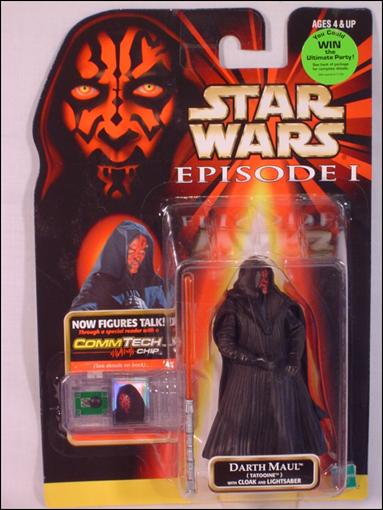 "Star Wars: Episode I 3 3/4"" Basic Action Figures Darth Maul (Tatooine) (Win Sticker) by Hasbro"