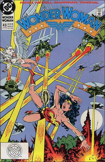 Wonder Woman (1987) 43-A by DC