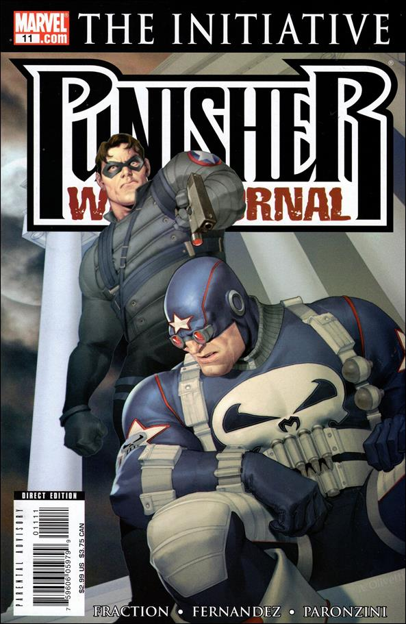 Punisher War Journal (2006) 11-A by Marvel