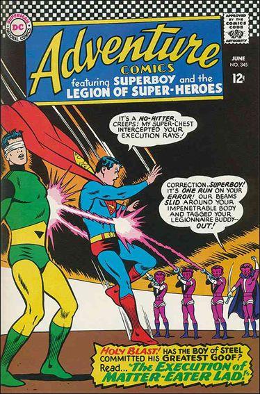 Adventure Comics (1938) 345-A by DC