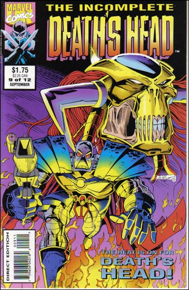 Incomplete Death's Head (UK) 9-A by Marvel UK
