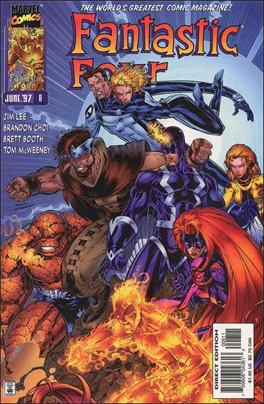 Fantastic Four (1996) 8-A by Marvel