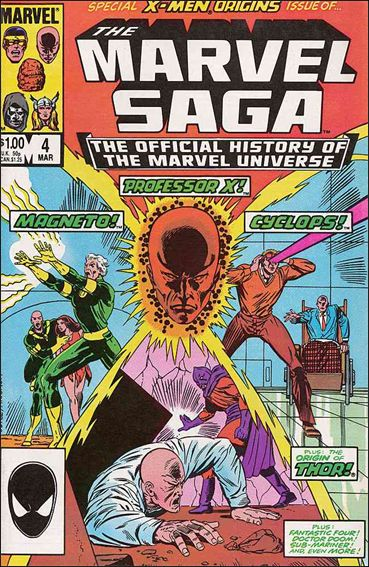 Marvel Saga 4-A by Marvel