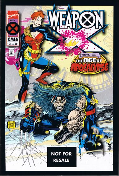 Weapon X (1995) 1-C by Marvel