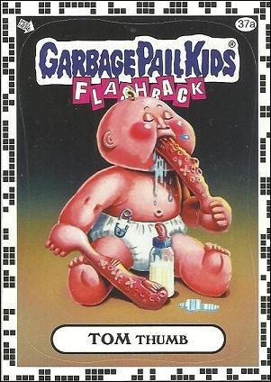 Garbage Pail Kids: Flashback Series 2 (White Border Base Set) 37a-A by Topps