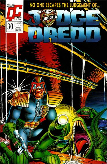 Judge Dredd (1986) 30-A by Quality Comics