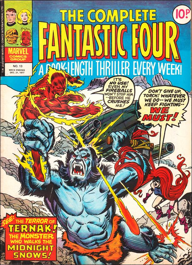 Complete Fantastic Four (UK) 13-A by Marvel UK