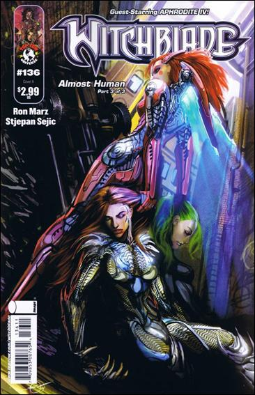 Witchblade 136-A by Top Cow