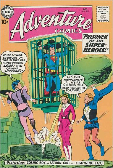 Adventure Comics (1938) 267-A by DC