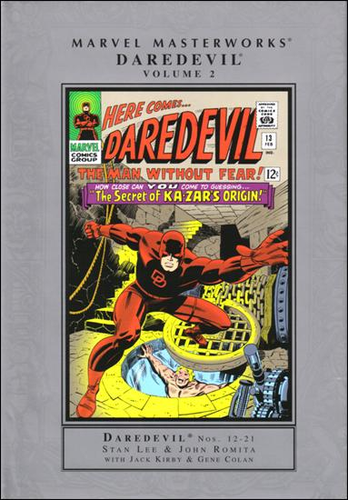 Marvel Masterworks: Daredevil 2-A by Marvel