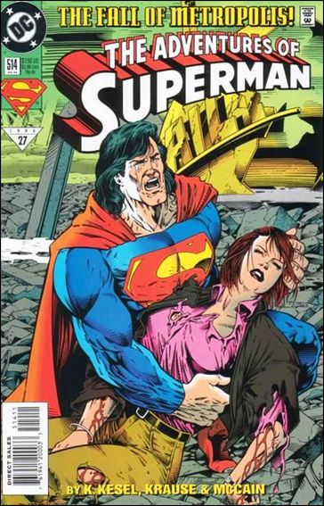 Adventures of Superman (1987) 514-A by DC