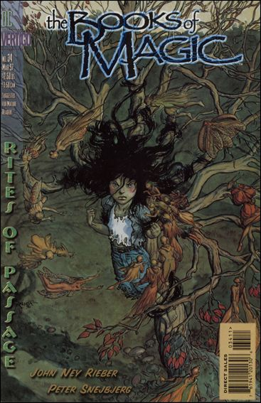 Books of Magic (1994) 34-A by Vertigo
