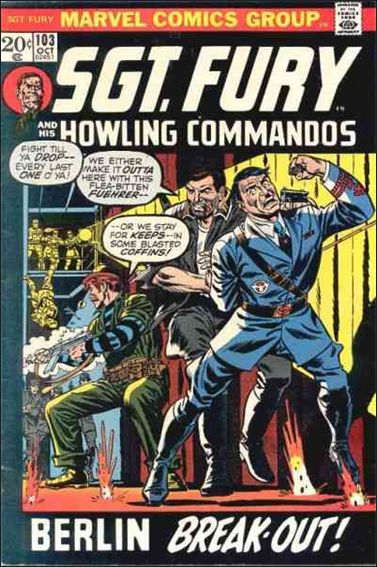 Sgt. Fury and His Howling Commandos 103-A by Marvel