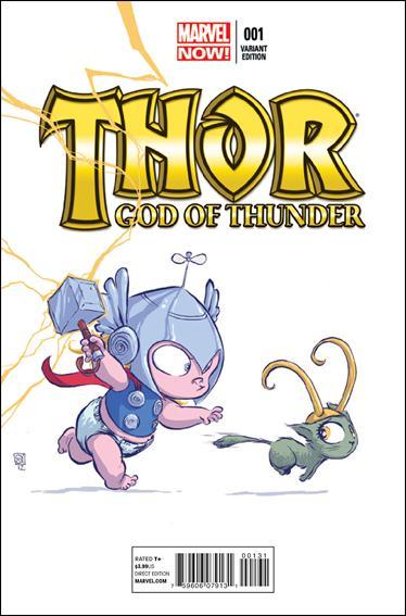 Thor: God of Thunder 1-F by Marvel