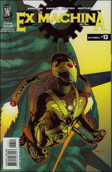Ex Machina 13-A by WildStorm