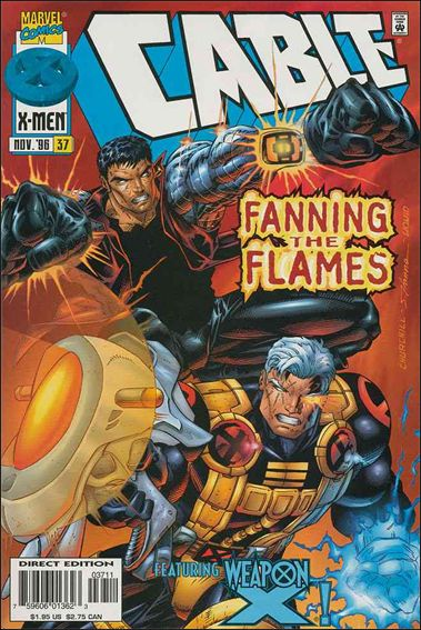 Cable (1993) 37-A by Marvel
