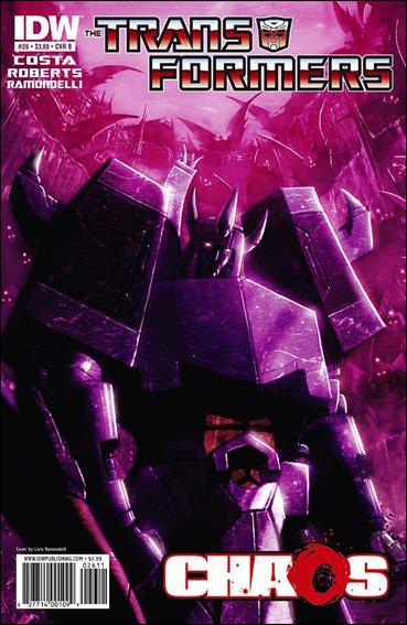 Transformers (2009) 26-B by IDW