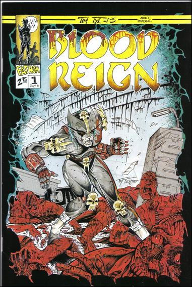 Blood Reign 1-A by Fathom Press