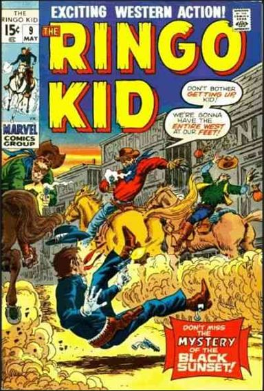 Ringo Kid 9-A by Marvel