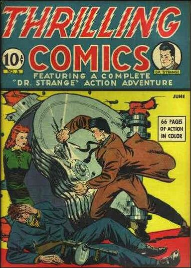 Thrilling Comics (1940) 5-A by Standard