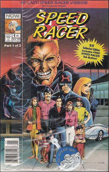 Speed Racer (1992) 1-D by Now Comics