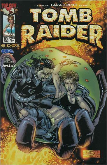 Tomb Raider: The Series 10-A by Top Cow