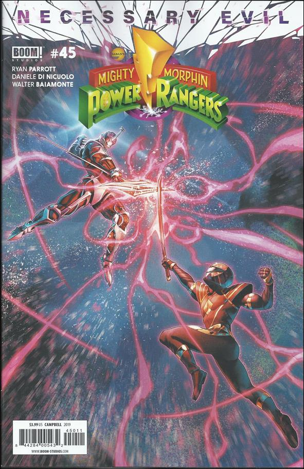 Mighty Morphin Power Rangers 45-A by Boom! Studios