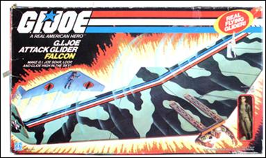 "G.I. Joe: A Real American Hero 3 3/4"" Basic Vehicles and Playsets Falcon (Attack Gilder)  by Hasbro"