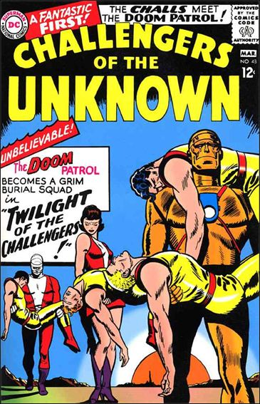 Challengers of the Unknown (1958) 48-A by DC