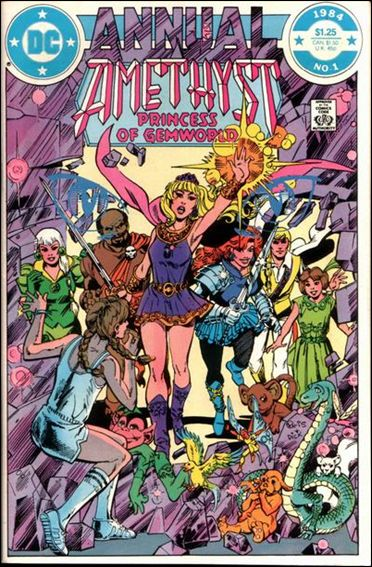 Amethyst Annual 1-A by DC