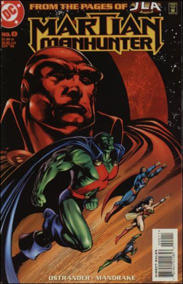 Martian Manhunter (1998) 0-A by DC
