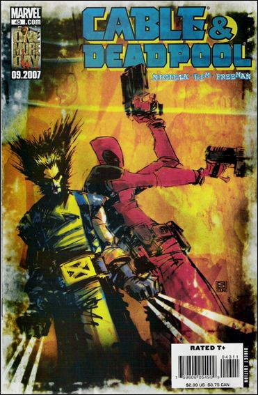 Cable & Deadpool 43-A by Marvel