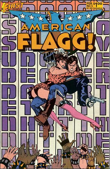 American Flagg! (1983) 5-A by First