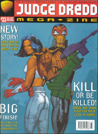Judge Dredd Megazine (1995) 33-A by Fleetway