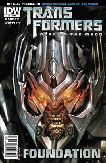 Transformers: Foundation 3-A by IDW