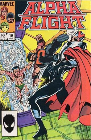 Alpha Flight (1983) 16-A