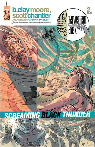 Hawaiian Dick: Screaming Black Thunder 2-A by Image
