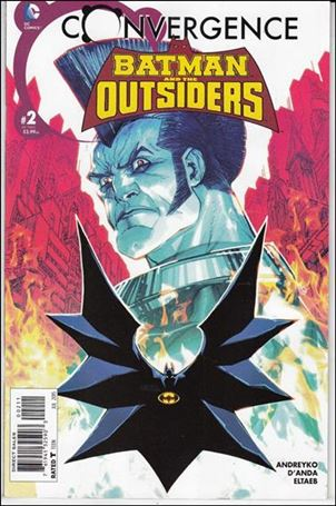 Convergence Batman and the Outsiders 2-A