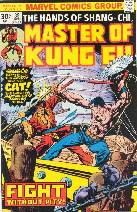 Master of Kung Fu 39-B by Marvel