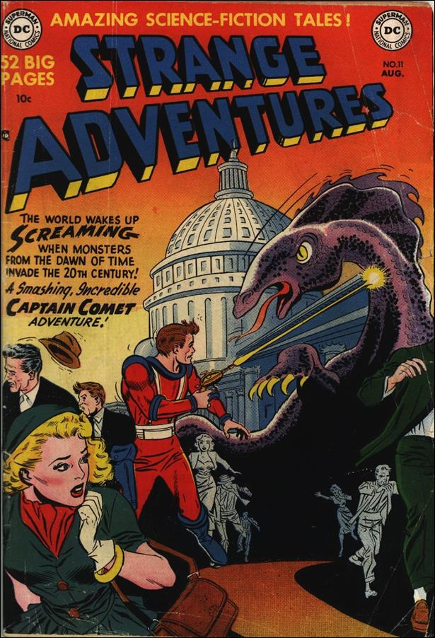 Strange Adventures (1950) 11-A by DC