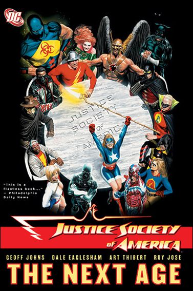 Justice Society of America 1-A by DC