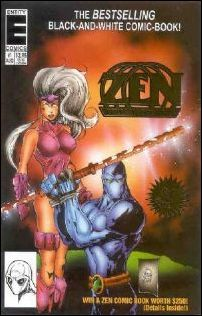 Zen Intergalactic Ninja (1993) 1-A by Entity