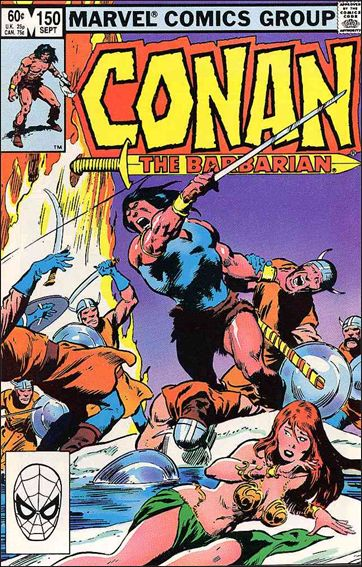 Conan the Barbarian (1970) 150-A by Marvel