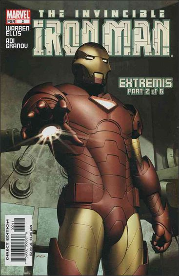 Invincible Iron Man (2005) 2-A by Marvel