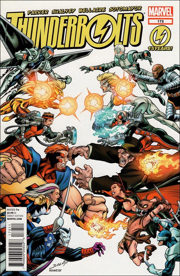 Thunderbolts (1997) 172-A by Marvel